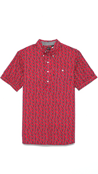 Burkman Bros. Short Sleeve Popover Shirt