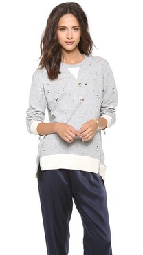 By Chance Jenna Oversized Sweatshirt