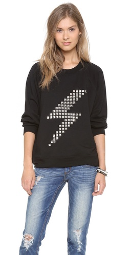 By Chance Melissa Bolt Sweatshirt