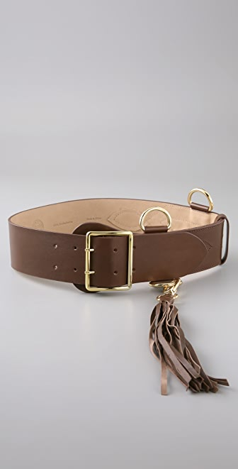 By Malene Birger Essa Belt with Tassel Detail