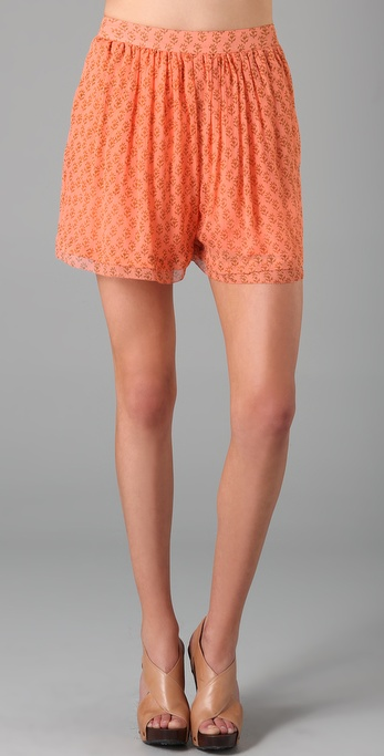 By Malene Birger Demita Print Shorts