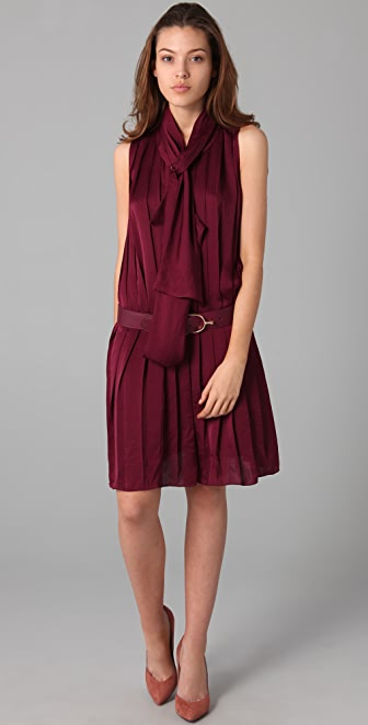 By Malene Birger Emu Pleated Dress