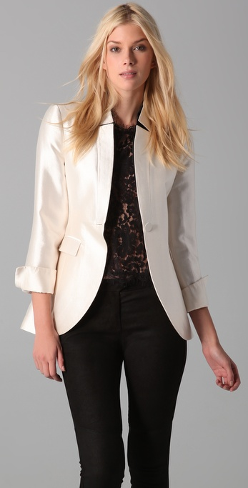 By Malene Birger Semuna Fitted Blazer