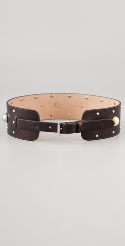 By Malene Birger Quari Raw & Embellished Belt
