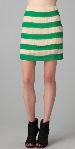 By Malene Birger Miralli Striped Skirt