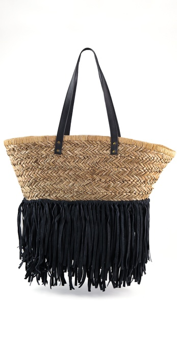 By Malene Birger Raw Straw Gaviana Bag