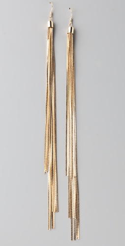 By Malene Birger Golden Hair Oreck Earrings
