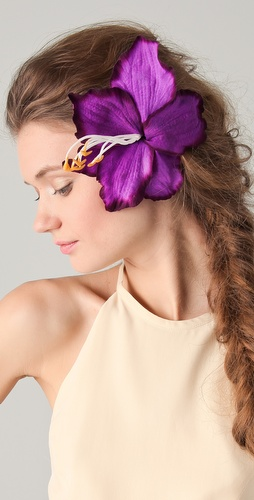 By Malene Birger Floral Elegance Gigilo Hair Clip