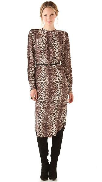 By Malene Birger Diogene Leopard Shift Dress