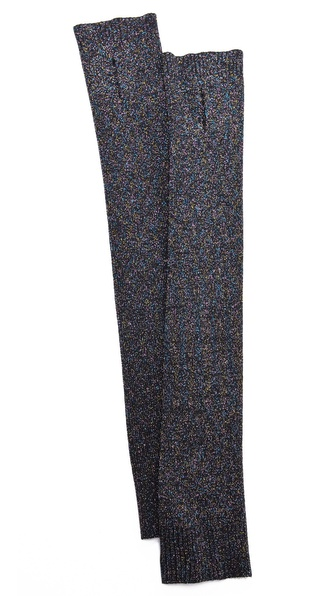 By Malene Birger Soleyma Lurex Arm Warmers