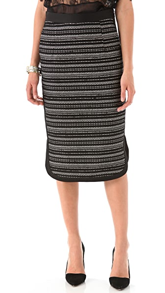 By Malene Birger Daverrias Lurex Pencil Skirt