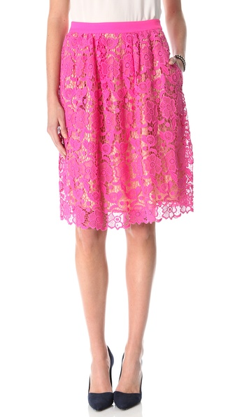 By Malene Birger Neveeh Lace Skirt