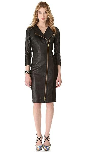 By Malene Birger Mallisia Leather Zip Dress