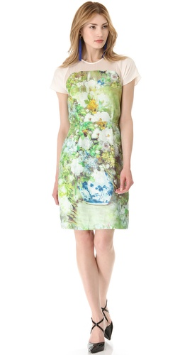 Shop By Malene Birger Natalina Printed Dress and By Malene Birger online - Apparel,Womens,Dresses,Day_to_Night, online Store