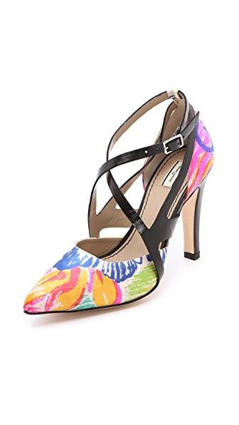 By Malene Birger Mansona Floral Pumps