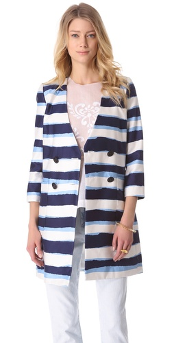By Malene Birger Francye Striped Coat