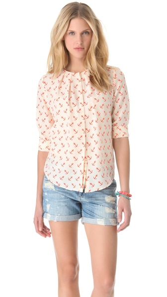 By Malene Birger Diae Anchor Blouse