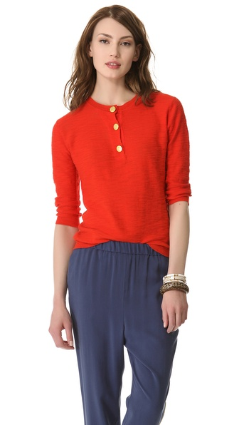 By Malene Birger Chinena Henley Top