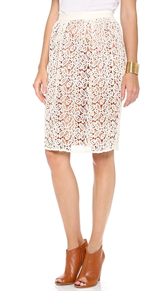 By Malene Birger Laenmar Lace Skirt