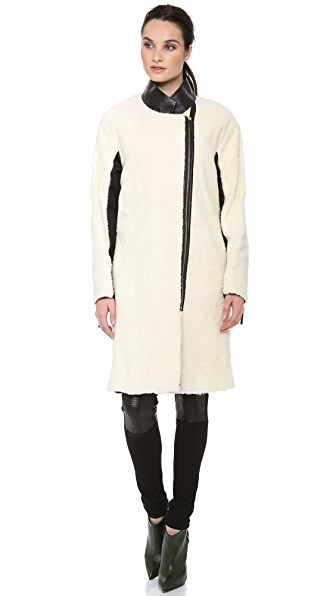 By Malene Birger Paoline Shearling Coat