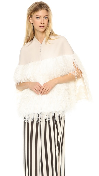 By Malene Birger Lochan Ostrich Feather Cape