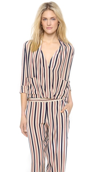 By Malene Birger Shukti Striped Top