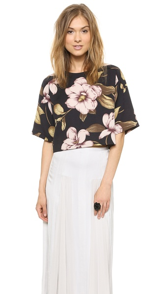 By Malene Birger Cirilla Floral Top