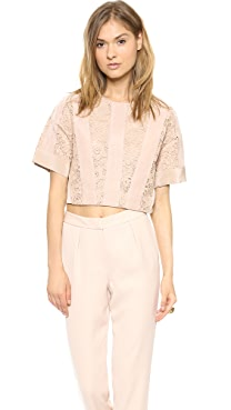 By Malene Birger Luce Lace top