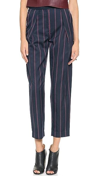 By Malene Birger Sega Striped Trousers
