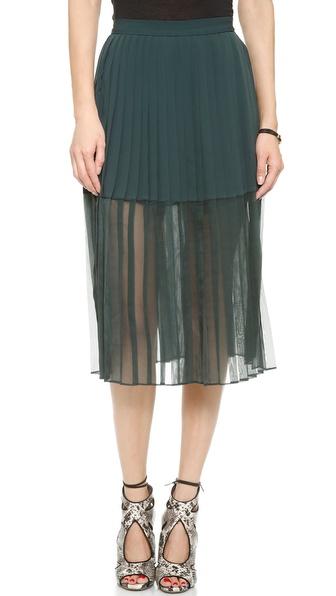 By Malene Birger Atarha Pleated Skirt