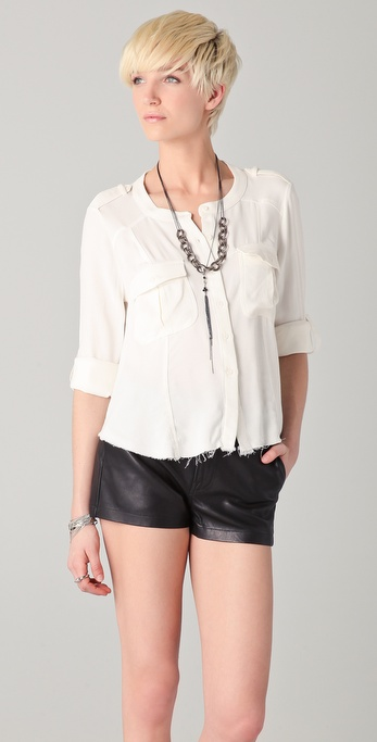 By Zoe Nine Button Down Shirt