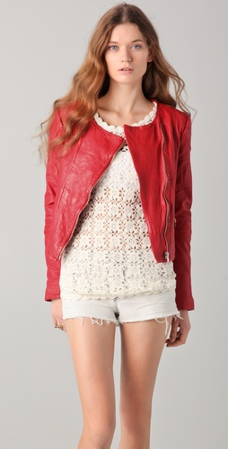 By Zoe Mona Leather Jacket