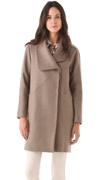 Cacharel Diagonale Chinee Coat
