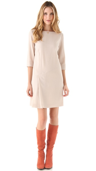 Cacharel Gaze de Laine Dress