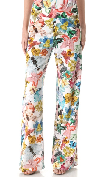 Cacharel Floral Print Pants