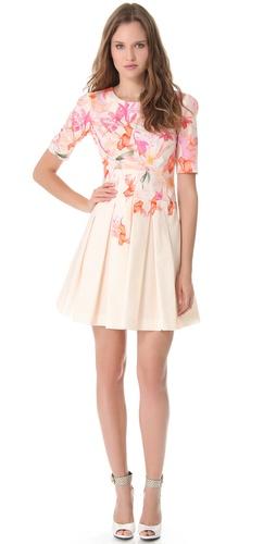 Cacharel Poplin Dress