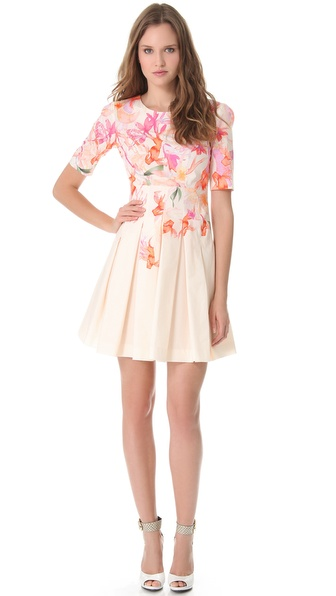 Cacharel Poplin Dress