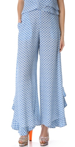 Cacharel Printed Pants