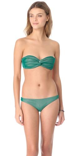 Cali Dreaming Twist Bandeau Bikini