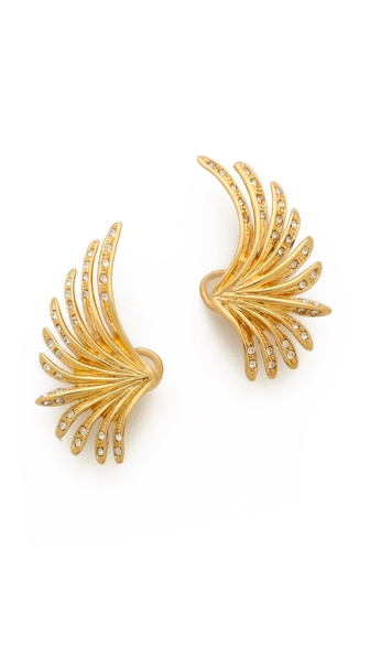 Ca & Lou Camilla Lobo Clip On Earrings