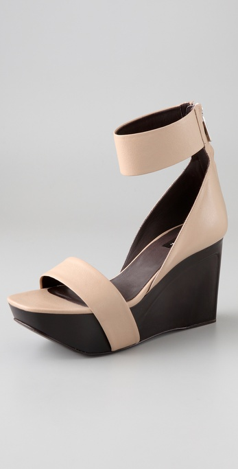Calvin Klein Collection Paola Wedge Sandals