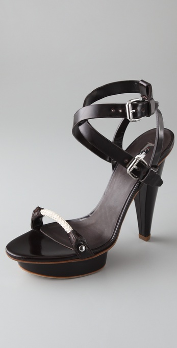 Calvin Klein Collection Kelan Platform Sandals