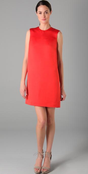 Calvin Klein Collection Pieced Wrap Dress