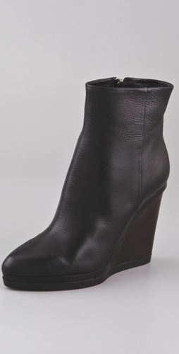 Calvin Klein Collection Delia Wedge Booties