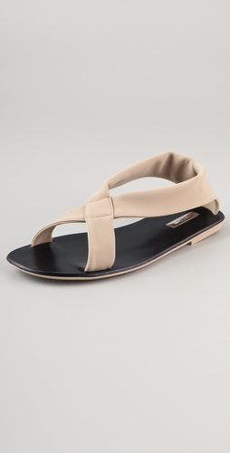 Calvin Klein Collection Luella Jersey Sandals