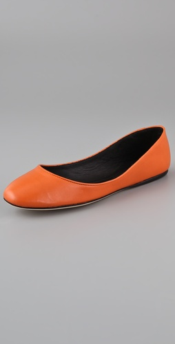 Calvin Klein Collection Cameron Ballet Flats