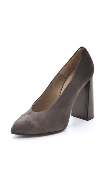 Calvin Klein Collection Harlow Cap Toe Pumps