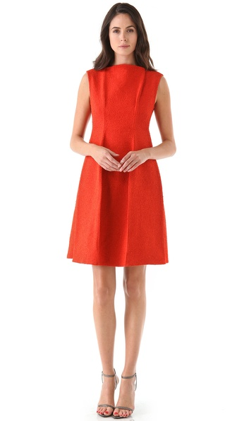 Calvin Klein Collection Voluminous Sheath Dress