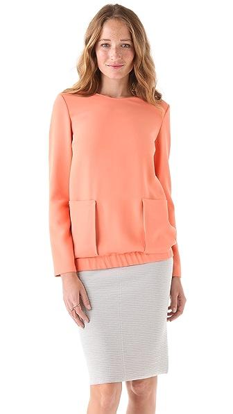 Calvin Klein Collection Pullover Top