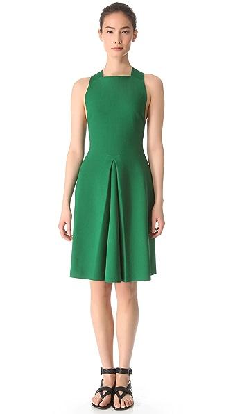 Calvin Klein Collection Gazsi Cross Back Dress
